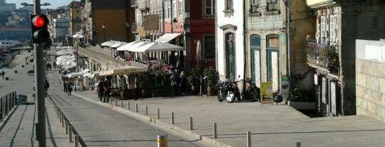 Cais da Ribeira is one of Porto, Portugal.