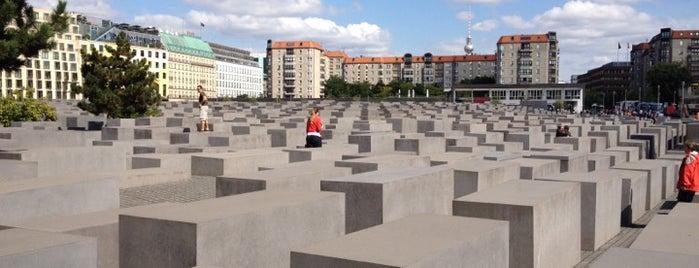 Denkmal für die ermordeten Juden Europas is one of Berlin, baby!.