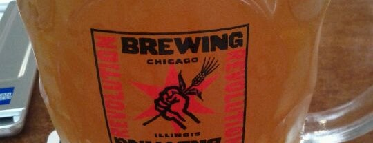 Revolution Brewing is one of Windy City Badge.