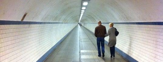Sint-Annatunnel | Voetgangerstunnel is one of Antwerp Gems #4sqCities.