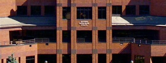 Alumni Memorial Union (AMU) is one of Follow Marquette University history.