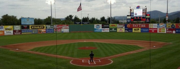 Haley Toyota Field at Salem Memorial Baseball Stadium is one of Red Sox Nation.