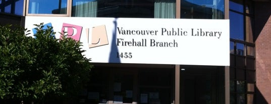 Vancouver Public Library - Firehall is one of Tidbits Vancouver 2.