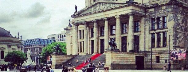 Gendarmenmarkt is one of Berlin.