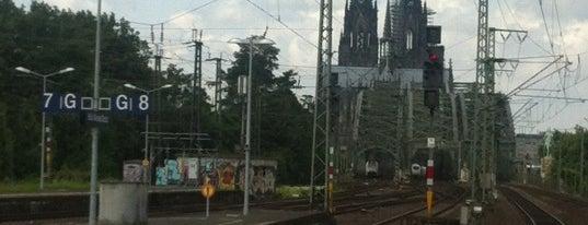 Köln Messe/Deutz Railway Station is one of DB ICE-Bahnhöfe.