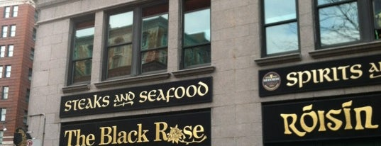 Black Rose is one of Boston's Best Pubs - 2013.