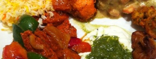 Ganga's Fine Indian Cuisine is one of HK.