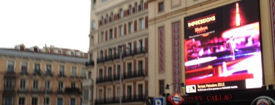 Plaza del Callao is one of AFTERNOON.