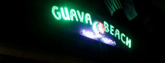 Guava Beach Bar & Grill is one of San Diego's 59-Mile Scenic Drive.