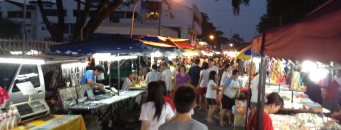 Pasar Malam Sri Petaling is one of enday.