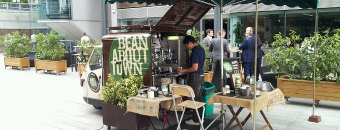 Bean About Town is one of FIFTY BEST: Independent coffee shops.