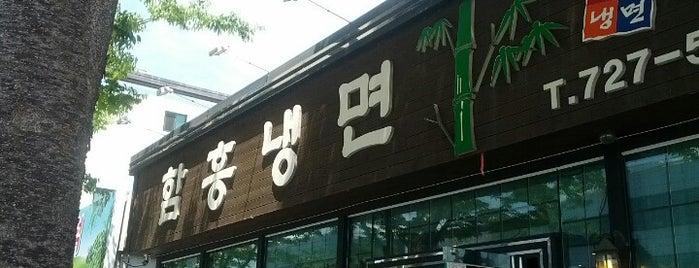 함흥냉면 is one of food.