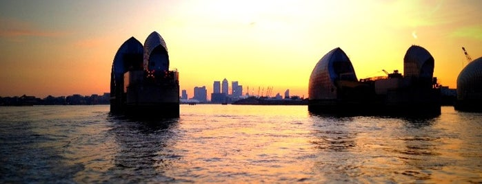 Thames Barrier is one of Around The World: London.