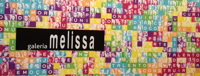 Galeria Melissa is one of #bethere.