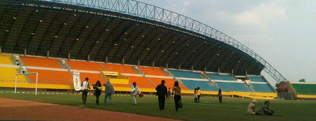 Stadion Gelora Sriwijaya (GSJ) is one of Места для видеотрансляций.