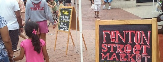 Fenton Street Market is one of ALL the noms.