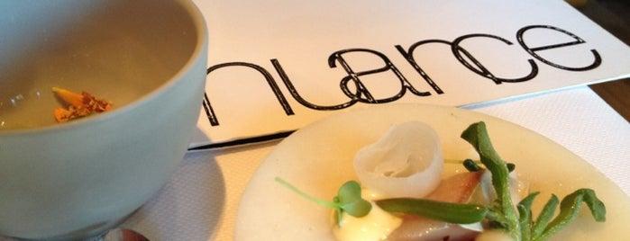 Restaurant Nuance is one of Étoilé Michelin Belgique.