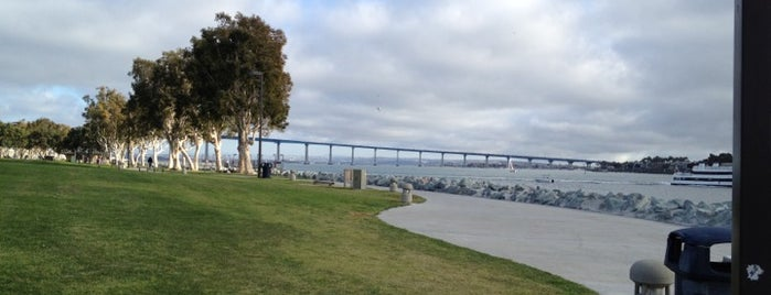 Waterfront Park @ The Hilton San Diego Bayfront is one of San Diego's 59-Mile Scenic Drive.