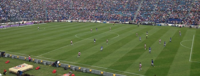Estadio Azul is one of Algunos lugares....
