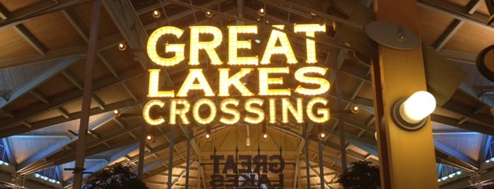 Great Lakes Crossing Outlets is one of Dan's Places.