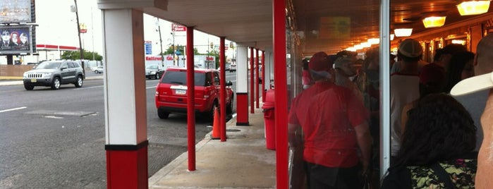 Tony Luke's is one of live to eat..