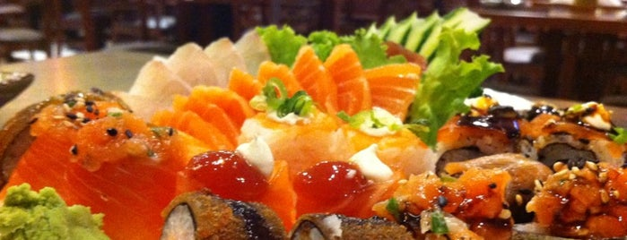 Kaishi Sushi is one of My food places.