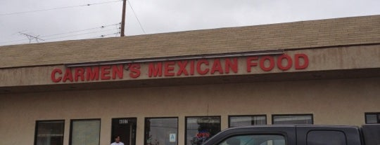 Carmen's Mexican Restaurant is one of San Diego: Taco Shops & Mexican Food.