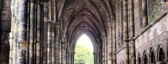 Holyrood Abbey is one of U.K..