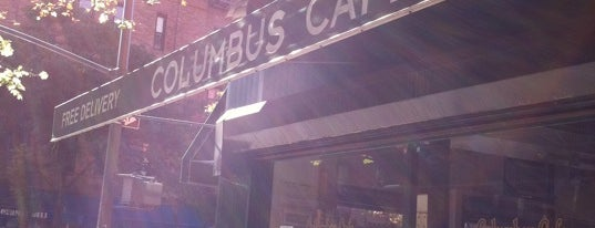 Columbus Cafe is one of New York.