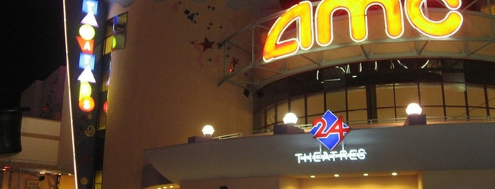 AMC Disney Springs 24 with Dine-in Theatres is one of Disney Springs.