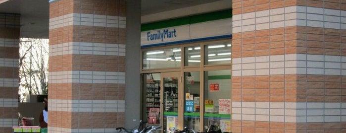ファミリーマート 武蔵小杉駅前店 is one of 武蔵小杉再開発地区.