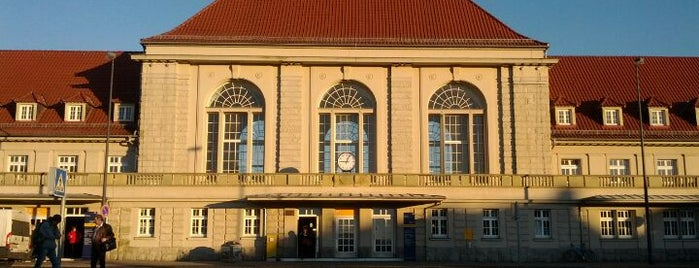Weimar Hauptbahnhof is one of visited stations.