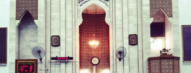Masjid Jamek Sultan Ibrahim is one of masjid.