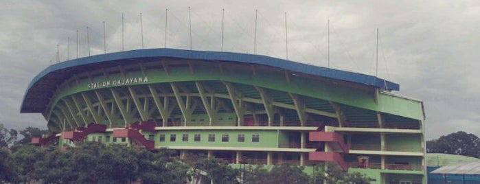 Stadion Gajayana is one of Get Around of Malang (travelbuck.net).