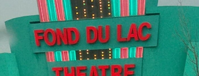Fond du Lac Theatre is one of Jeanne's Check-ins.