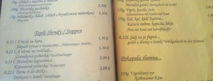 Salaš Kľak is one of Favorite Food Spots.