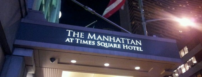 The Manhattan at Times Square Hotel is one of NYC Rooftops.