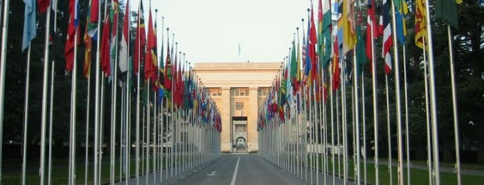 Palais des Nations is one of Discover Geneva.