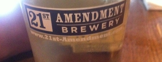 21st Amendment Brewery & Restaurant is one of Best Places to Check out in United States Pt 6.