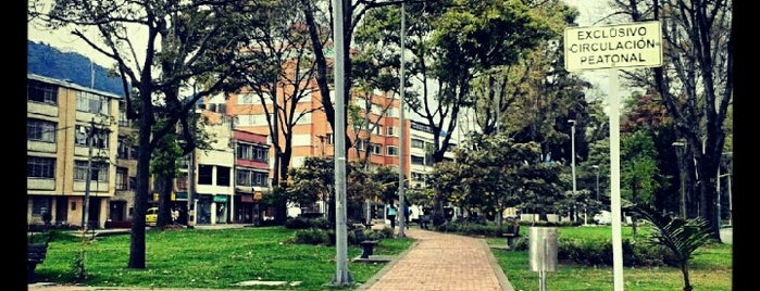 Park Way is one of Ruta Teusaquillo, Bogotá. #TurisTIC.