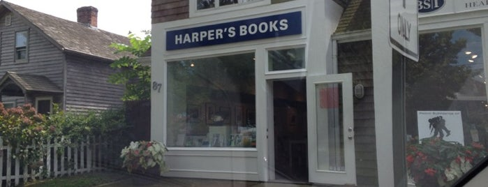 Harper's Books is one of bookstores.