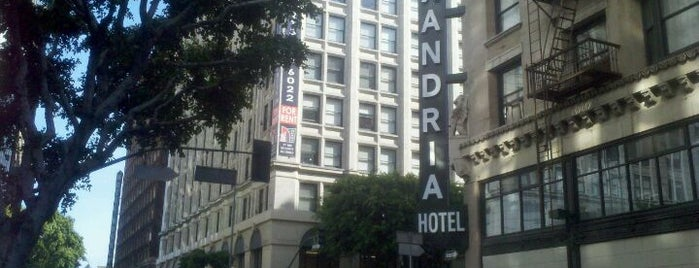 The Alexandria Hotel is one of Paranormal Traveler.