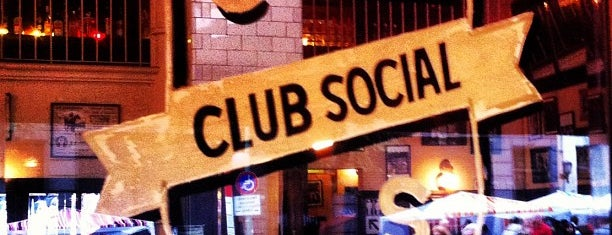 Club Social Deluxe is one of Resto noche.