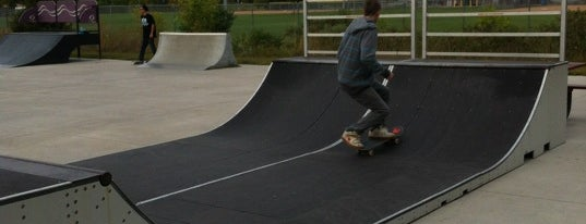 Andover Skateboard Park is one of common.
