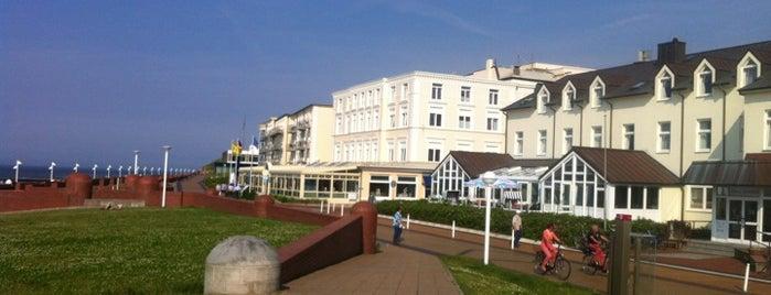 Strandhotel Georgshöhe is one of Die schönsten Thermen und Wellnesshotels.