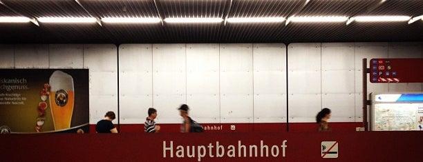 S+U Hauptbahnhof is one of München S-Bahnlinie 4.