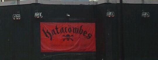 Les Katacombes is one of Quartier des Spectacles.