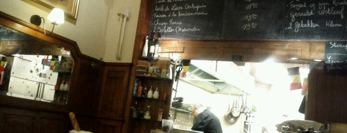 Brasserie Ploegmans is one of Authentic pubs in Brussels. No hipsters!.