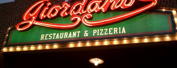 Giordano's is one of Pizza!!.