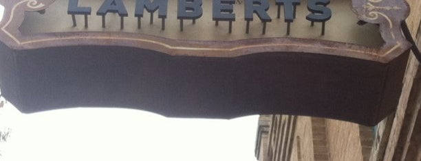 Lambert's Downtown BBQ is one of Austin's Best BBQ Joints - 2012.
